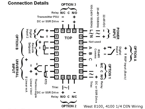 pt100 temperature sensor circuit diagram
